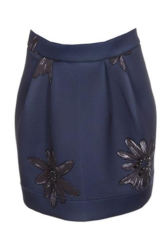 essentiel jupes femme de couleur bleu