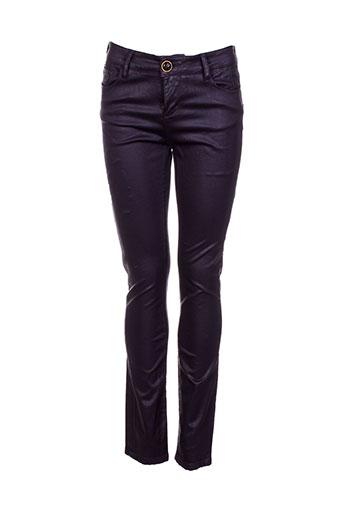 may&june pantalons femme de couleur violet