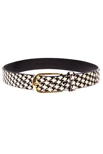 essentiel ceintures femme de couleur noir
