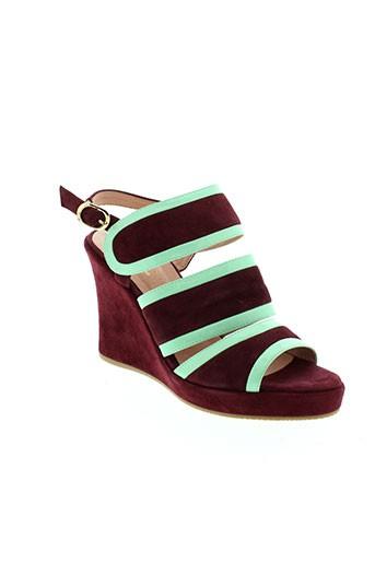 essentiel chaussures femme de couleur violet