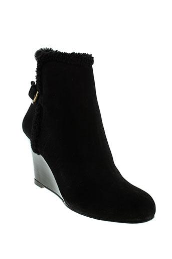 gerard et darel boots femme de couleur noir