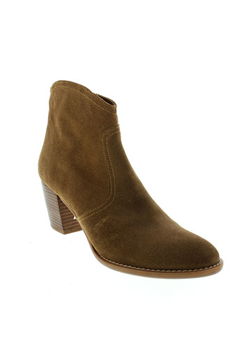 auguste chaussures femme de couleur marron