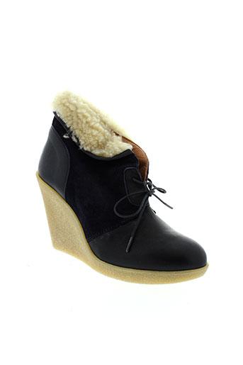 petite mendigote chaussures femme de couleur bleu