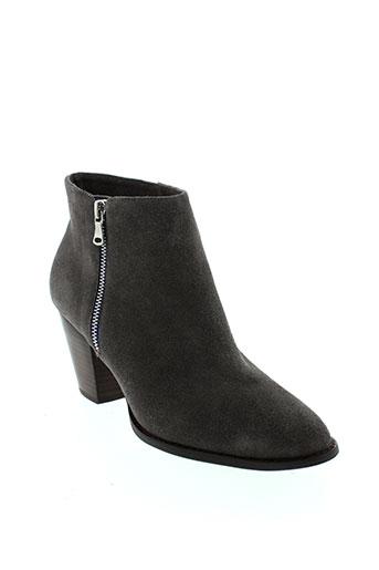 mellow et yellow boots femme de couleur gris