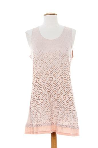 akela key t-shirts femme de couleur rose