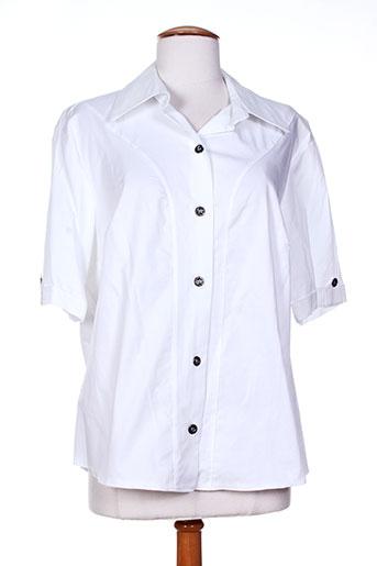 20/20 chemises femme de couleur blanc