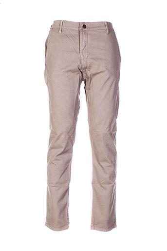 meltin'pot jeans homme de couleur beige