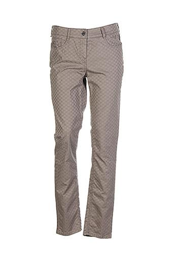 atelier gardeur pantalons femme de couleur marron