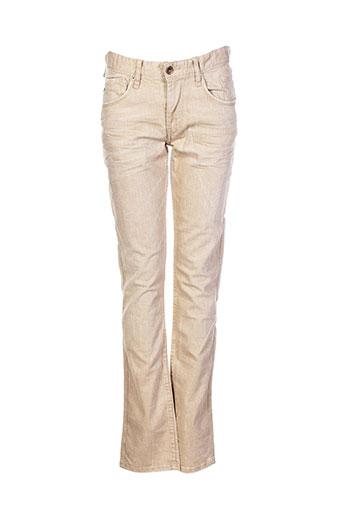 teddy smith jeans garçon de couleur beige