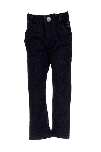 ikks pantalons garçon de couleur bleu