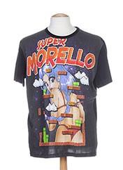 T-shirt manches courtes noir FRANKIE MORELLO pour homme seconde vue