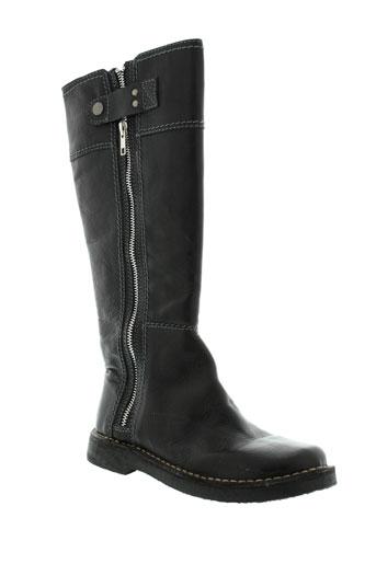 vidorreta bottes femme de couleur noir
