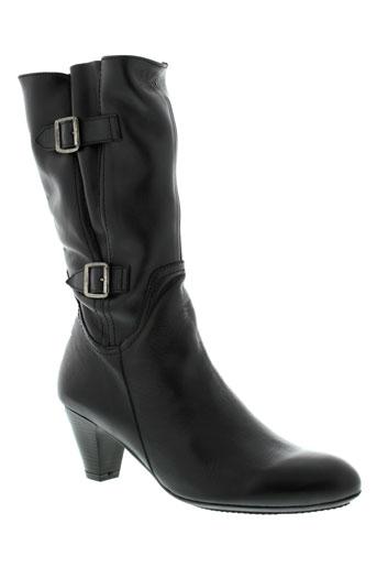 modabella bottes femme de couleur noir