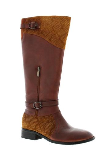 laura et vita bottes femme de couleur marron