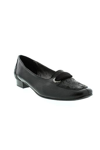 artika soft chaussures femme de couleur noir