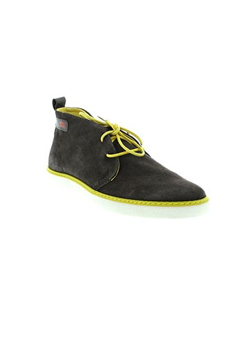 levis chaussures homme de couleur gris