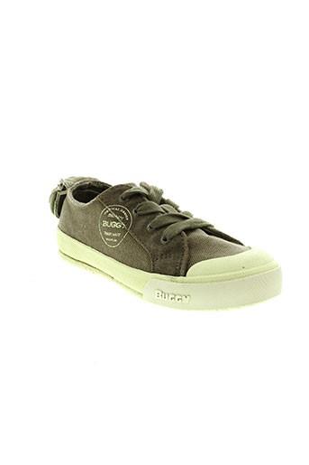 buggy chaussures enfant de couleur vert
