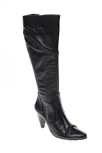 virus moda chaussures femme de couleur noir