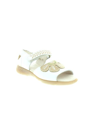 tty chaussures fille de couleur blanc