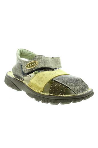 tty chaussures garçon de couleur vert