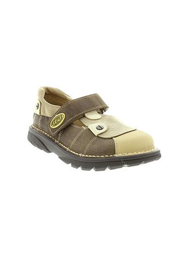 tty chaussures garçon de couleur marron