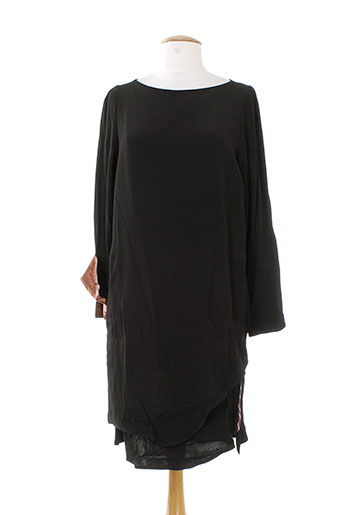 8pm tuniques femme de couleur noir (photo)
