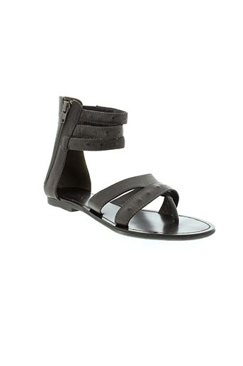 one et step sandales et nu et pieds femme de couleur marron