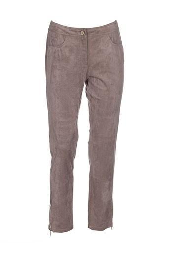 thomas et rabe pantalons et decontractes femme de couleur beige