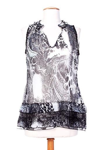 eva kayan chemises femme de couleur noir