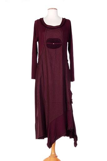 caty lesca robes femme de couleur rouge