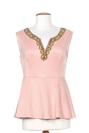 moody's chemises femme de couleur rose