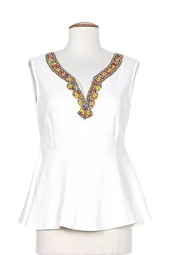 moody's chemises femme de couleur blanc