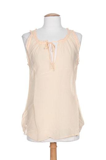 mason's chemises femme de couleur orange