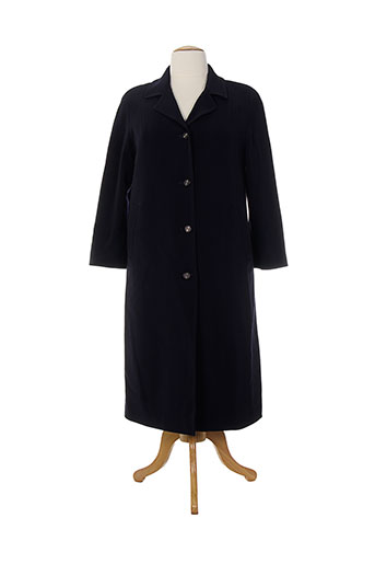 c.s creations manteaux femme de couleur bleu