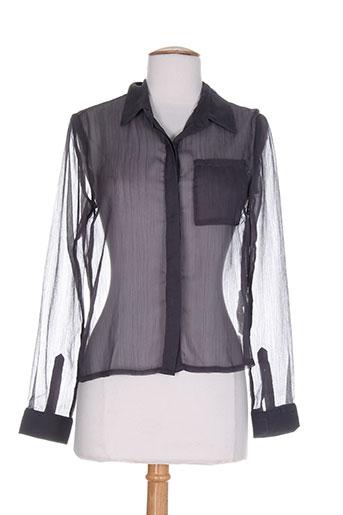 lavand chemises femme de couleur gris