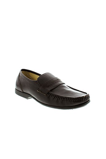 arima mocassins homme de couleur marron