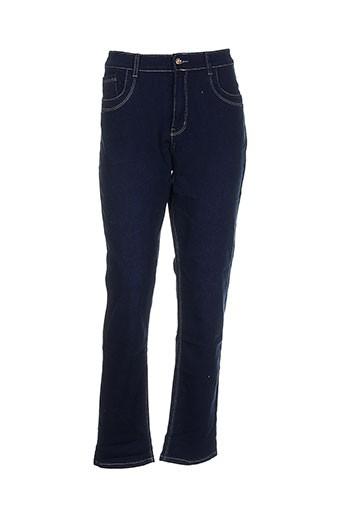 adb et denim pantalons et decontractes femme de couleur bleu