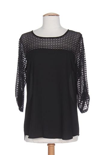 vie nocturne chemises femme de couleur noir
