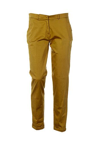 la fiancee du mekong pantalons femme de couleur beige