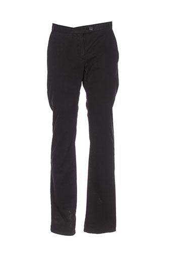 american vintage pantalons homme de couleur noir