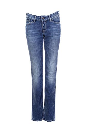 teddy et smith jeans et coupe et slim fille de couleur bleu