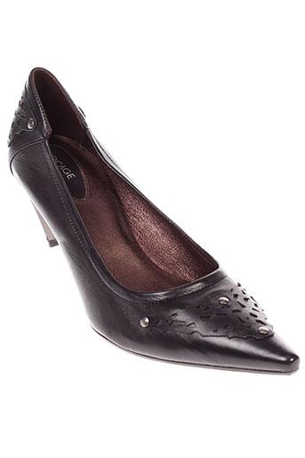 bocage escarpins femme de couleur noir