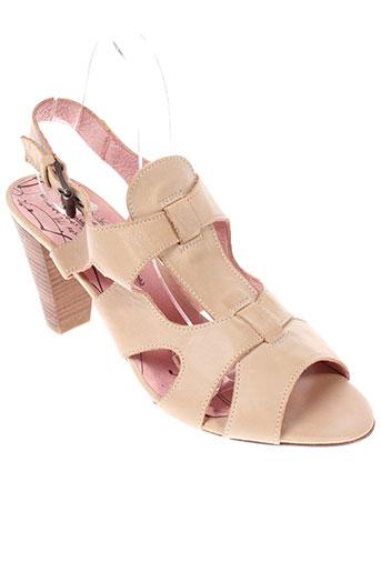alpe chaussures femme de couleur beige