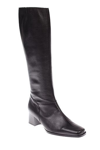 artika et soft bottes femme de couleur noir