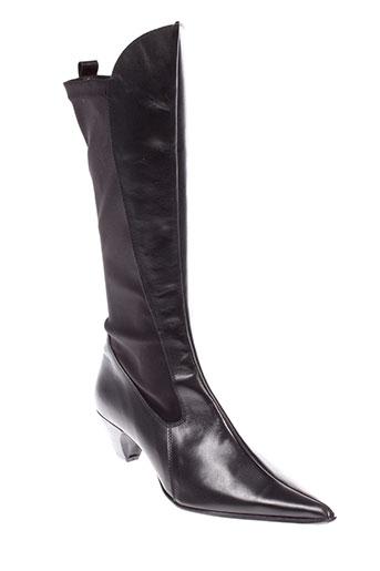 armaro bottes femme de couleur noir