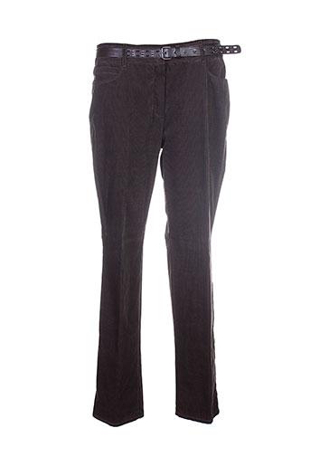 gerry weber pantalons femme de couleur marron
