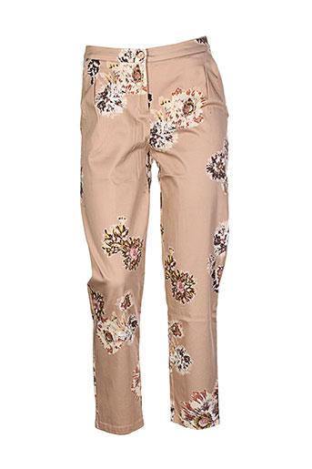 lilith pantalons femme de couleur beige