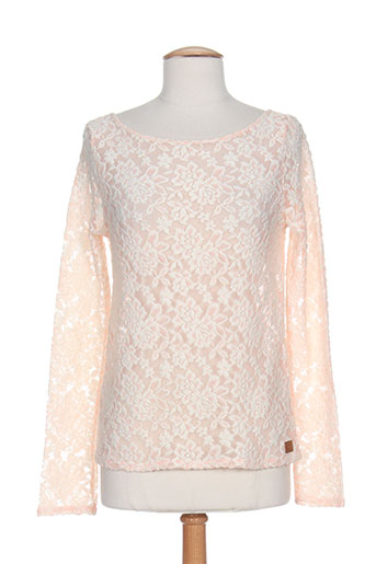chipie chemises femme de couleur rose