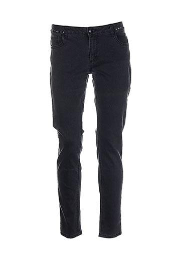 mkt studio jeans femme de couleur noir