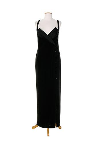frank usher robes femme de couleur noir